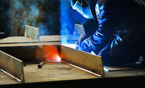 Arc Welding Sheet Metal Application